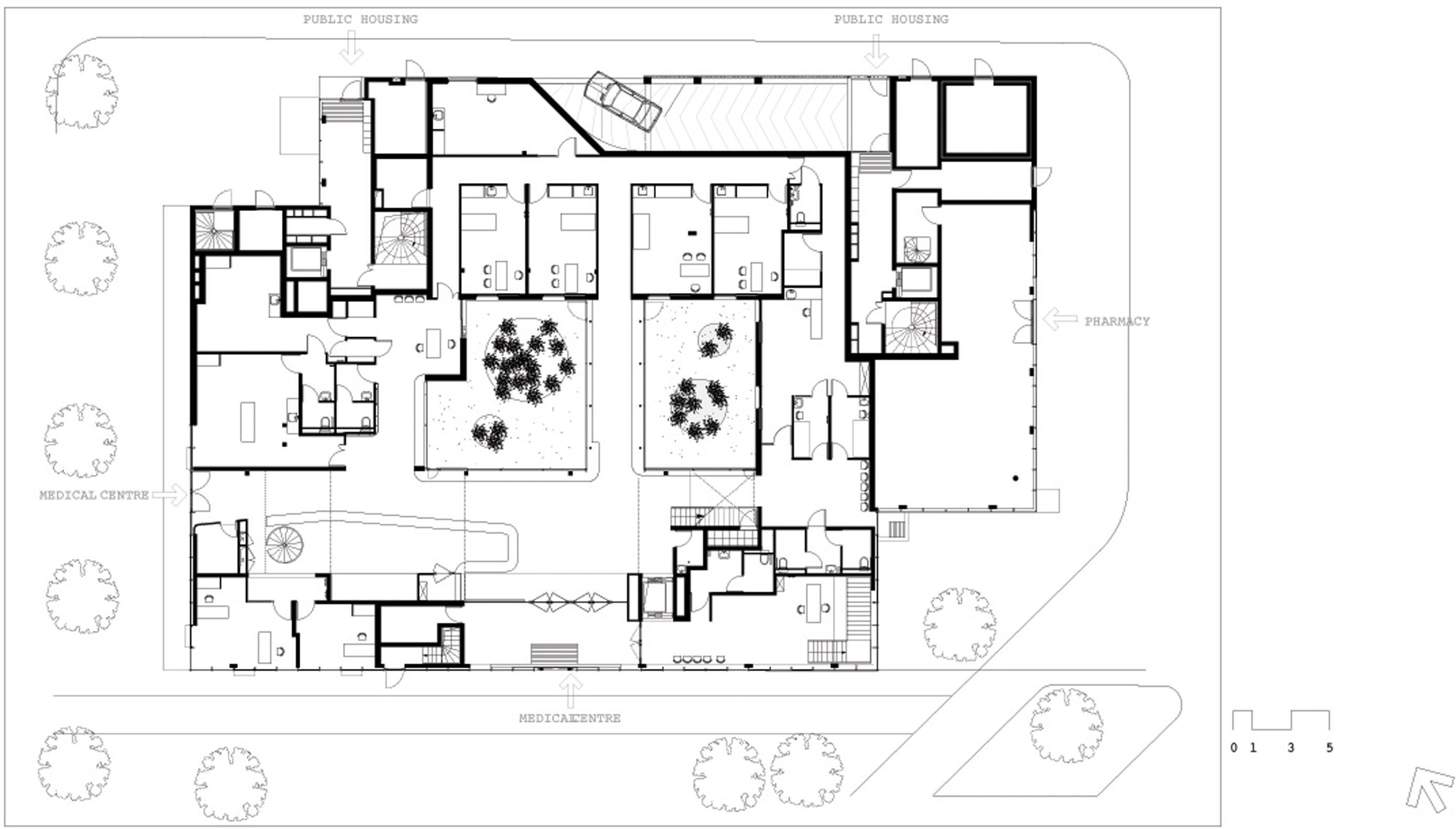 Centre Municipal De Sant 233 Tenine 36 Logements Sociaux